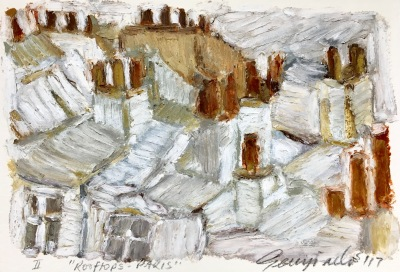 Rooftops Paris II (SOLD)