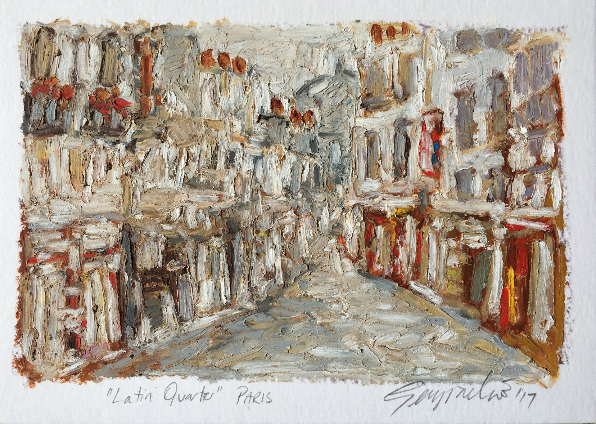 Latin Quarter Paris (SOLD)