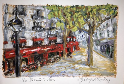 Le Bastille Paris (SOLD)