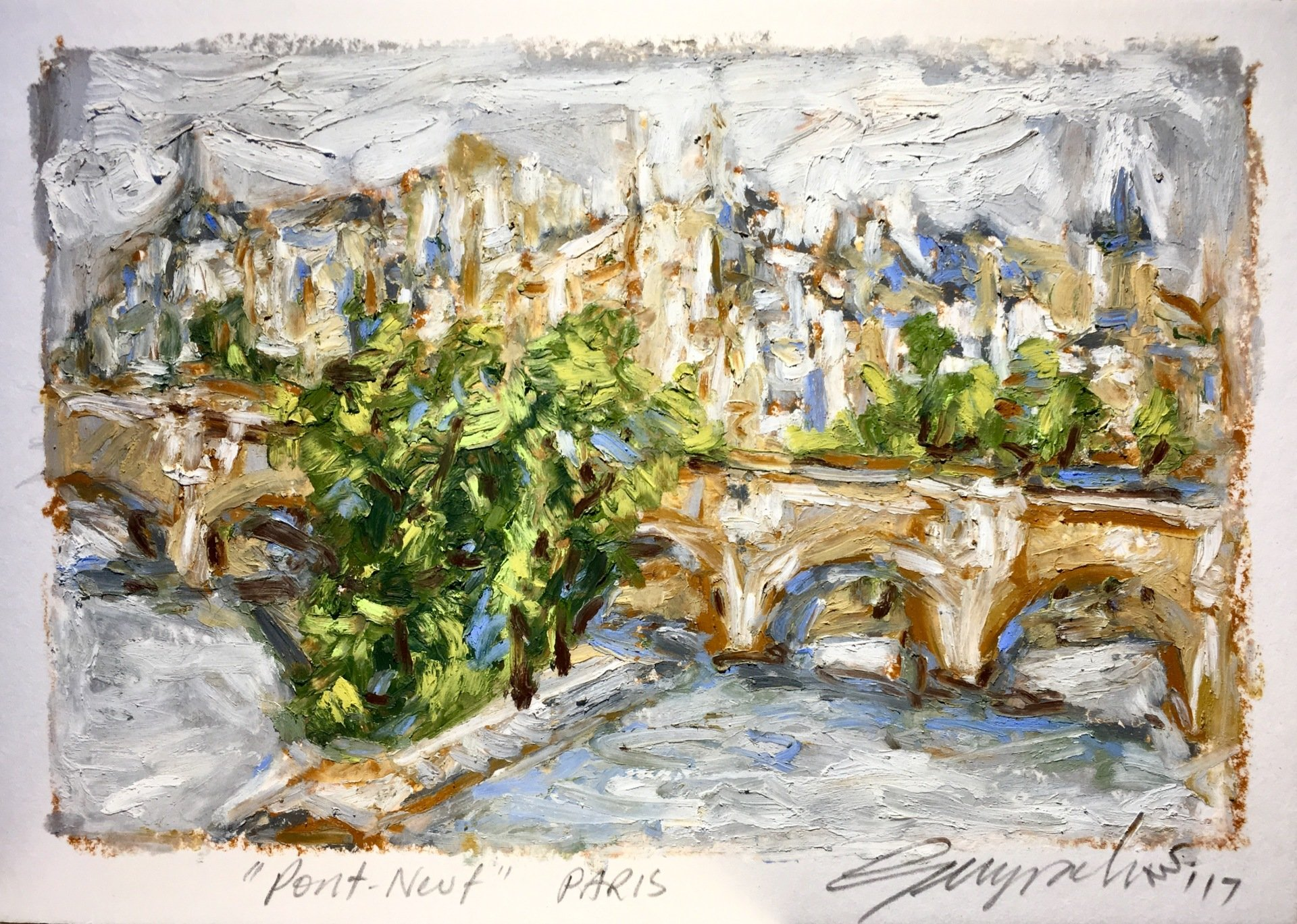 Pont Neuf Paris (SOLD)