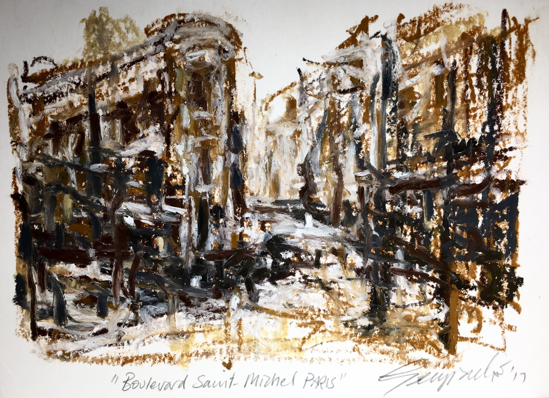 Boulevard Saint Michel Paris (SOLD)